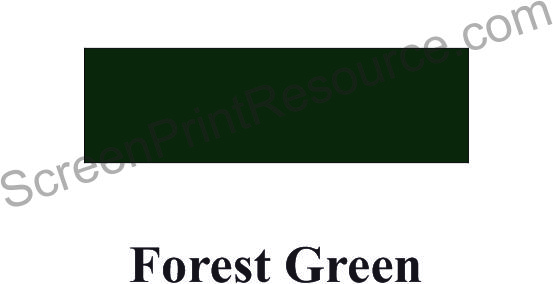 "FDC 142 Forest Green15"" Sign Vinyl"