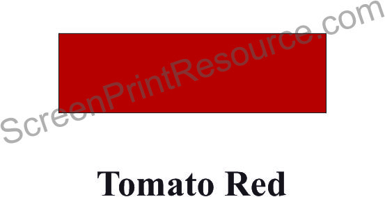"FDC 014 Tomato Red 15"" Sign Vinyl"