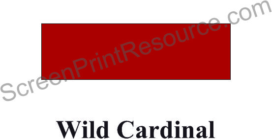 "FDC 125 Wild Cardinal Red 15"" Sign Vinyl - VIF12515X50Y"