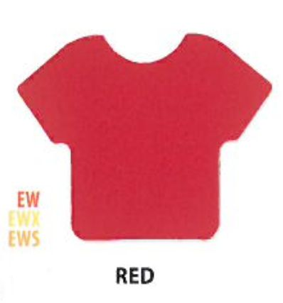 "Siser HTV Vinyl Easy Weed Stretch Red 15"" Wide"