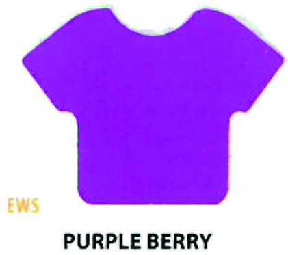 "Siser HTV Vinyl  Easy Weed Stretch Purple Berry 15"" Wide"