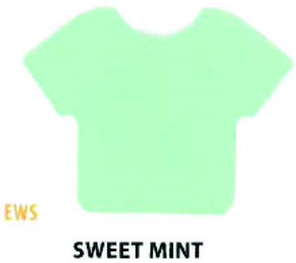 "Siser HTV Vinyl  Easy Weed Stretch Sweet Mint 15"" Wide"